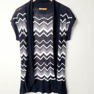 Belldini Knit Sweater Vest Sz L NWOT